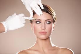 Botox on a woman